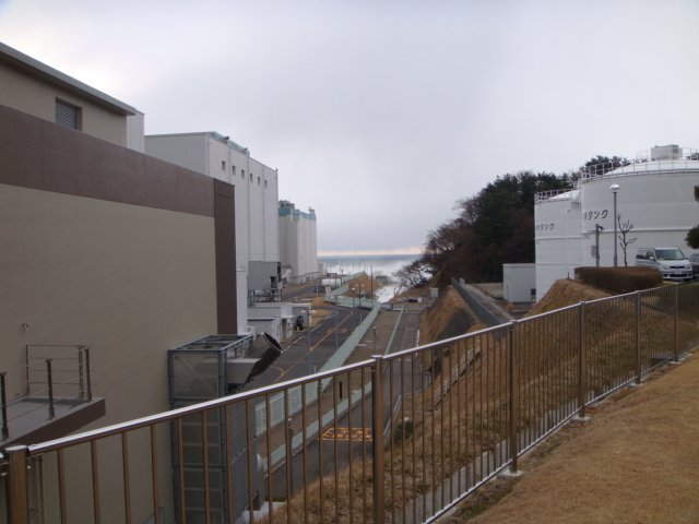 Pictures of the damages caused by the tsunami at Fukushima Daini Nuclear Power Station