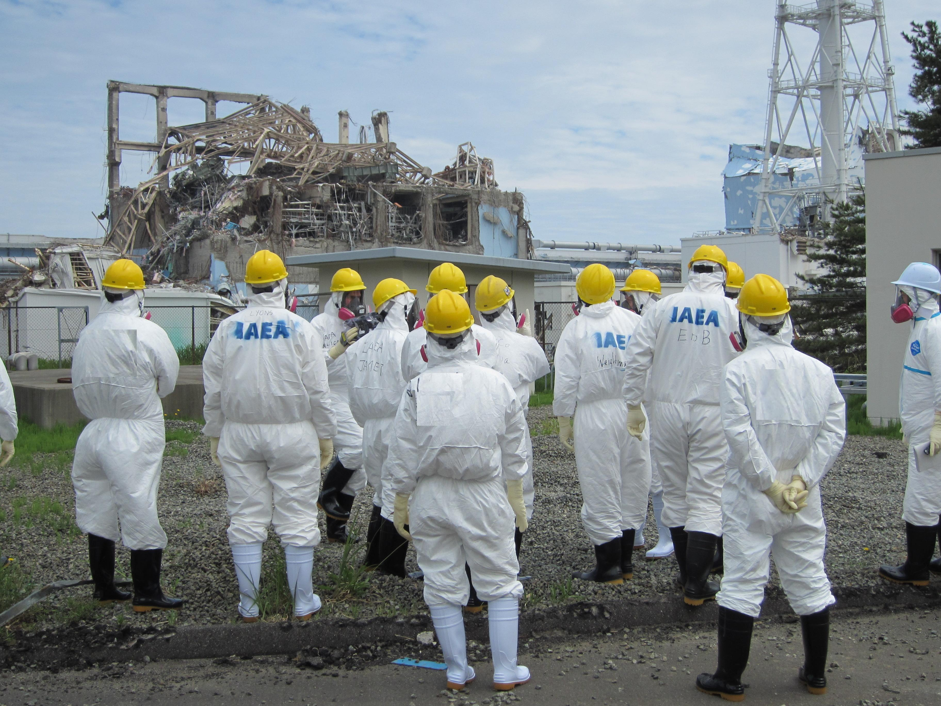 Fukushima Daiichi Nuclear Power Station, Around Unit 3