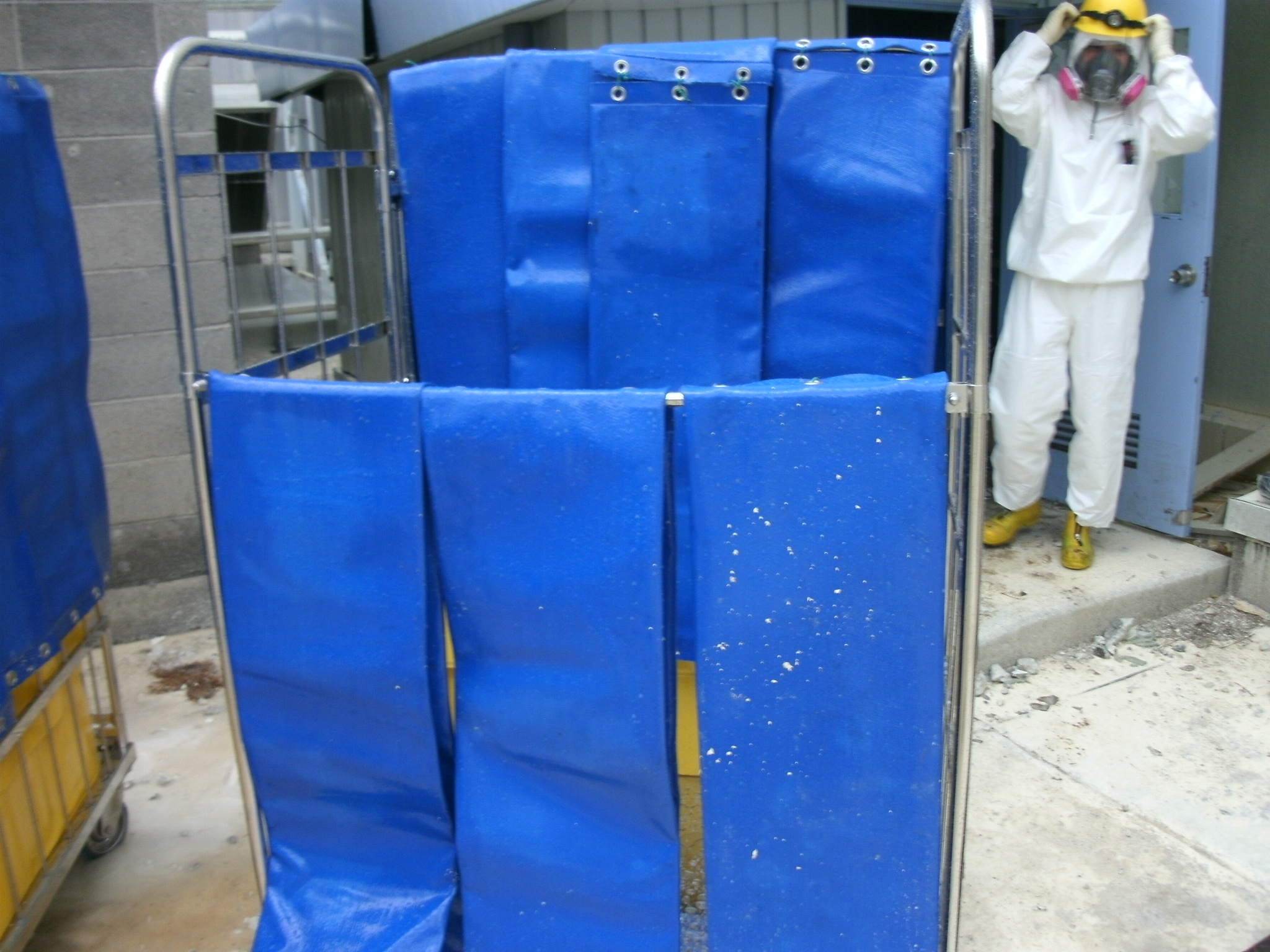 Shielding Wall of Unit 2, Fukushima Daiichi Nuclear Power Station