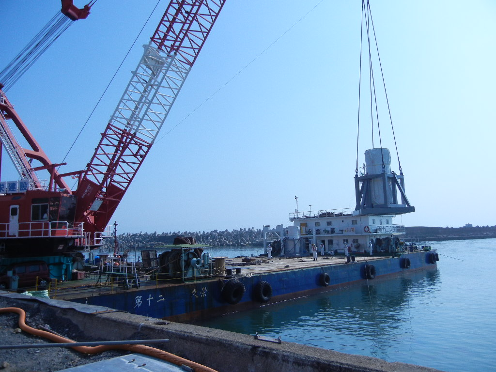 Unloading of the 2nd Cesium Adsorption Facility (SARRY)
