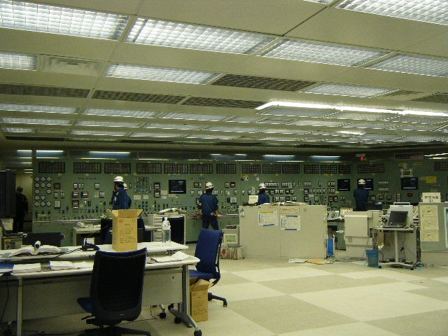 Main Control Room after Tsunami arrived
