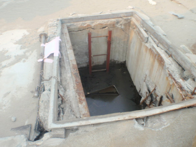 Near of the Sea Water intake of Unit2:Photo1