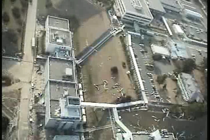 Reactor building of Fukushima Daiichi Nuclear Power Station(mountain-side)