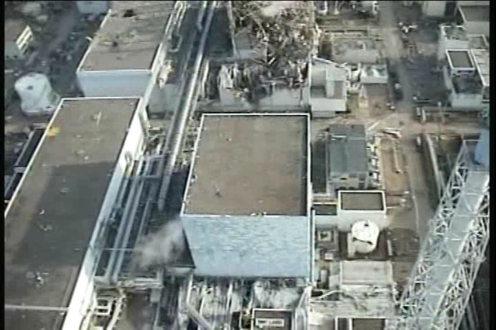 Reactor building of Unit2 at Fukushima Daiichi Nuclear Power Station