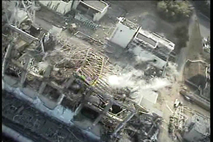 Reactor building of Unit3 at Fukushima Daiichi Nuclear Power Station(1)