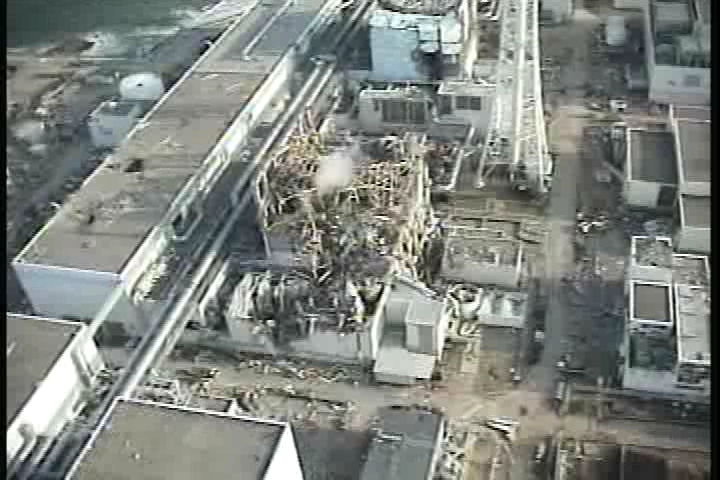 Reactor building of Unit3 at Fukushima Daiichi Nuclear Power Station(2)