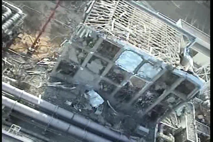 Reactor building of Unit4 at Fukushima Daiichi Nuclear Power Station