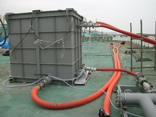 Circulating Seawater Purification Equipment at the Fukushima Daiichi Nuclear Power Station