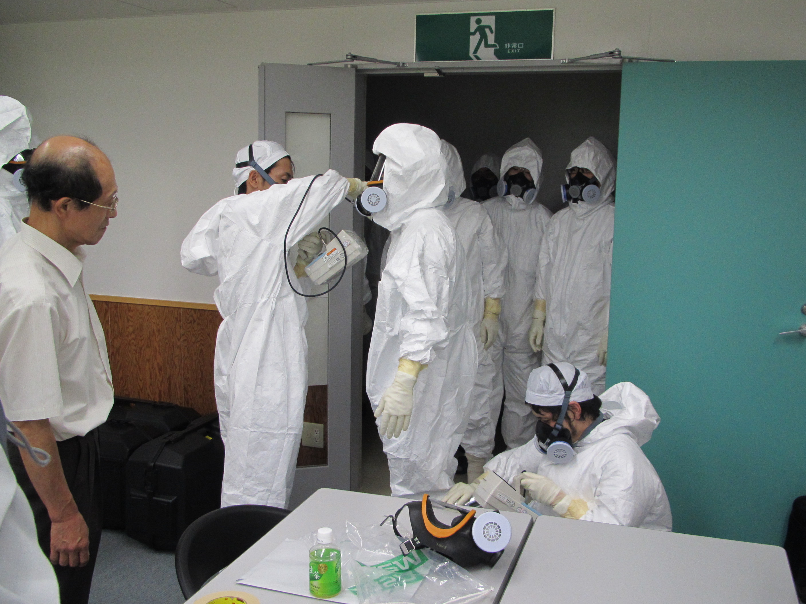 Training of radiation measuring workers