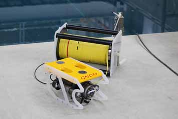 Appearance of submersible ROV